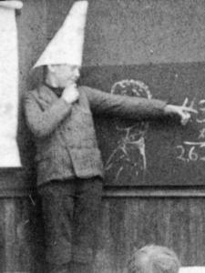 dunce-cap-wikimedia-1906